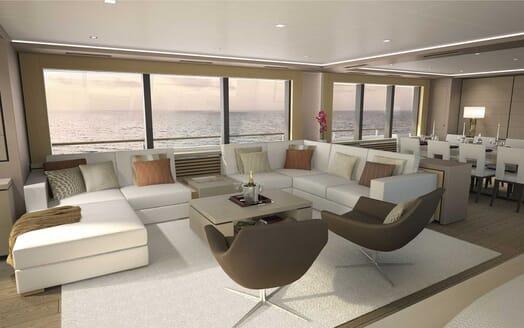 Motor Yacht Darnet 38m saloon