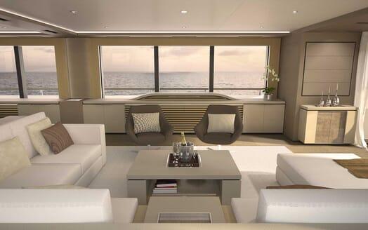 Motor Yacht Darnet 38m salon