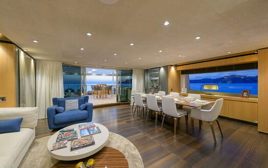 Motor Yacht MR. T Gym