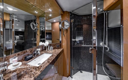 Motor Yacht Lady Cope foredeck