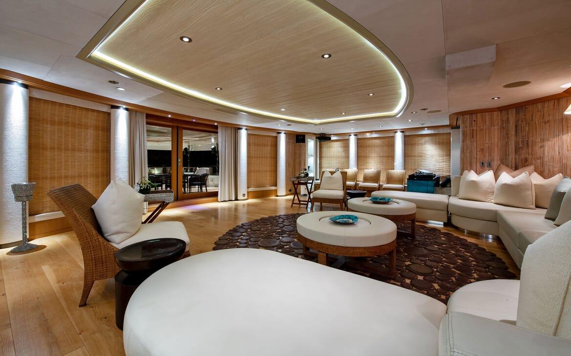 Motor Yacht SUNRAYS Lower Deck Saloon