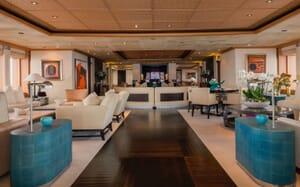 Motor Yacht SUNRAYS Main Deck Saloon