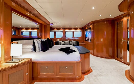Motor Yacht MY WAY Master Stateroom Side On