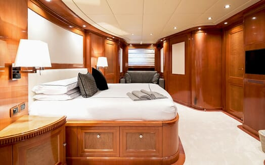 Motor Yacht MY WAY Guest Double Stateroom