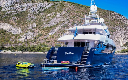 Motor Yacht MY WAY Tenders and Toys