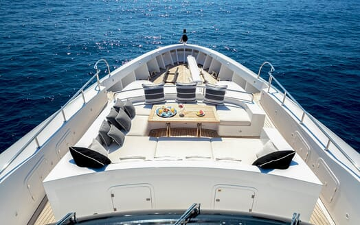 Motor Yacht MY WAY Bow Seating