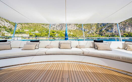 Motor Yacht MY WAY Aft Seating