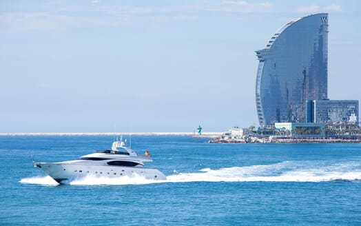 Motor Yacht SEVEN C Underway