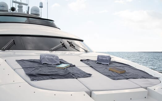 Motor Yacht SEVEN C Bow Sunpad