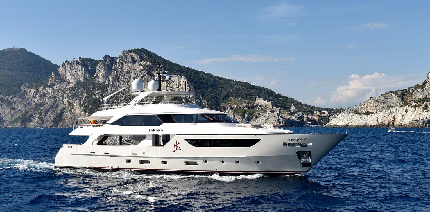 Motor Yacht Takara Profile