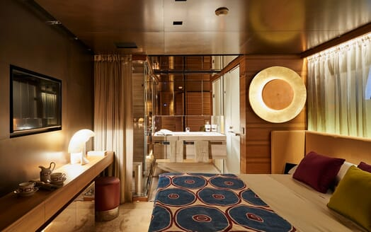 Motor Yacht Takara Guest Stateroom