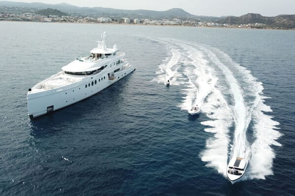Motor Yacht 63m Amels Exterior and Toys