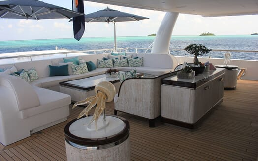 Motor Yacht 63m Amels Aft Seating