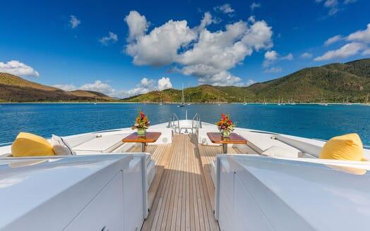 Motor Yacht MAGIC Bow