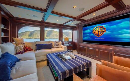Motor Yacht MAGIC TV Room