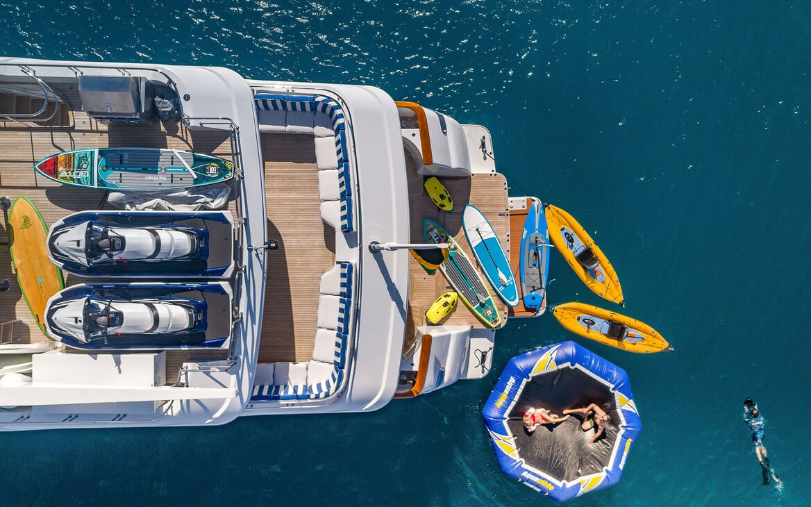 Motor Yacht MAGIC Tenders and Toys