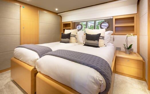 Motor Yacht La Pace double cabin