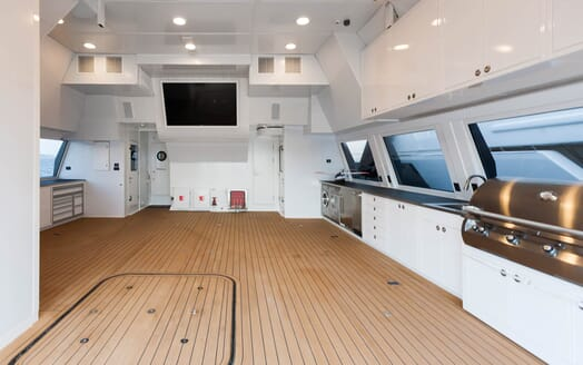 Motor Yacht Axis utility room