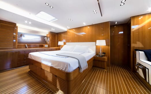 Sailing Yacht SOLLEONE Master Stateroom