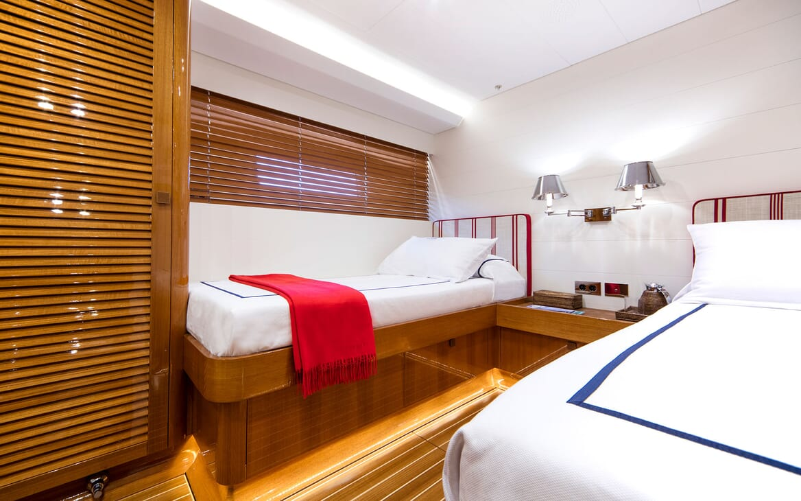 Sailing Yacht SOLLEONE Twin Stateroom