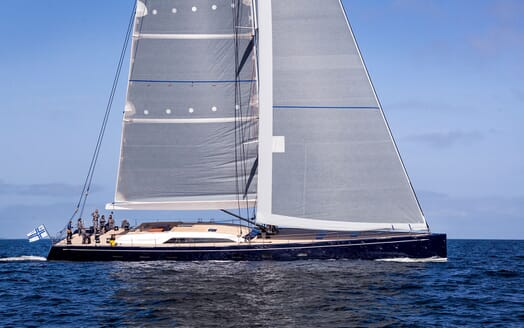 Sailing Yacht SOLLEONE Exterior Profile