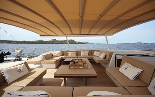 Sailing Yacht SOLLEONE Sun Deck Top Up