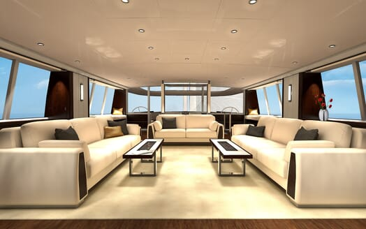 Sailing Yacht Beiderbeck saloon