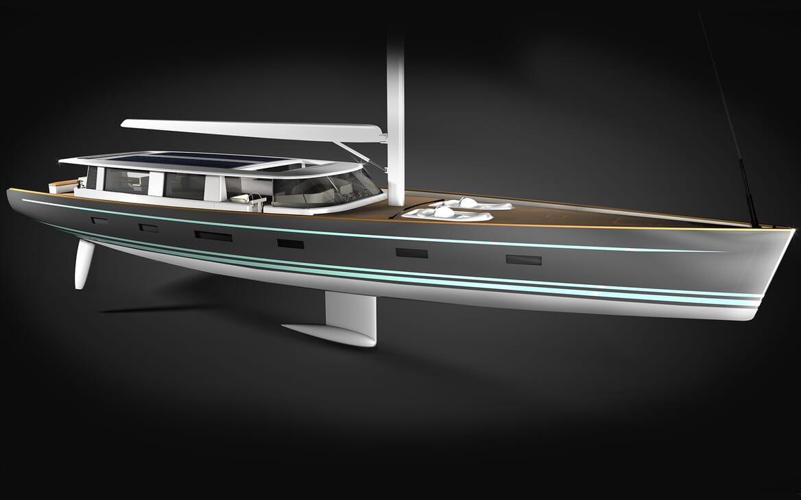 Sailing Yacht Beiderbeck model