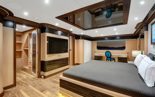 Sailing Yacht Meira VIP cabin