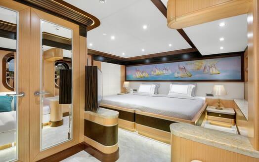 Sailing Yacht Meira twin cabin