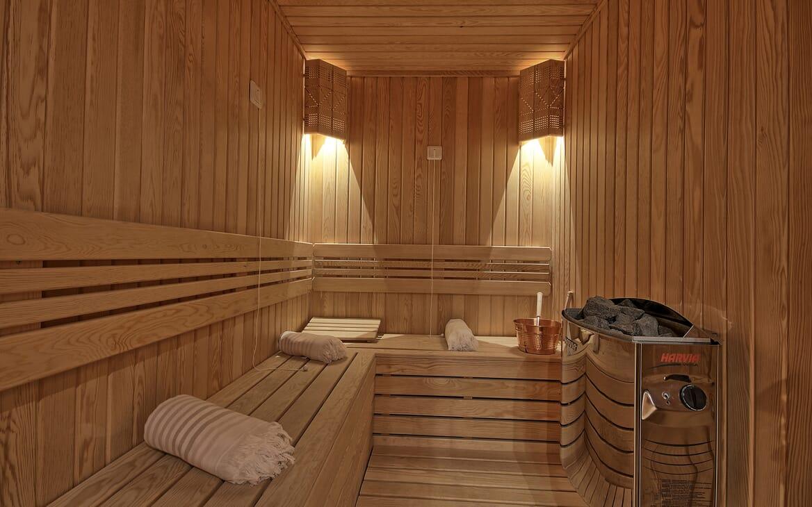 Sailing Yacht Meira sauna