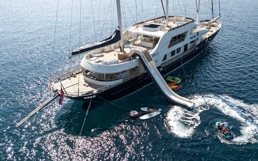 Sailing Yacht Meira toys