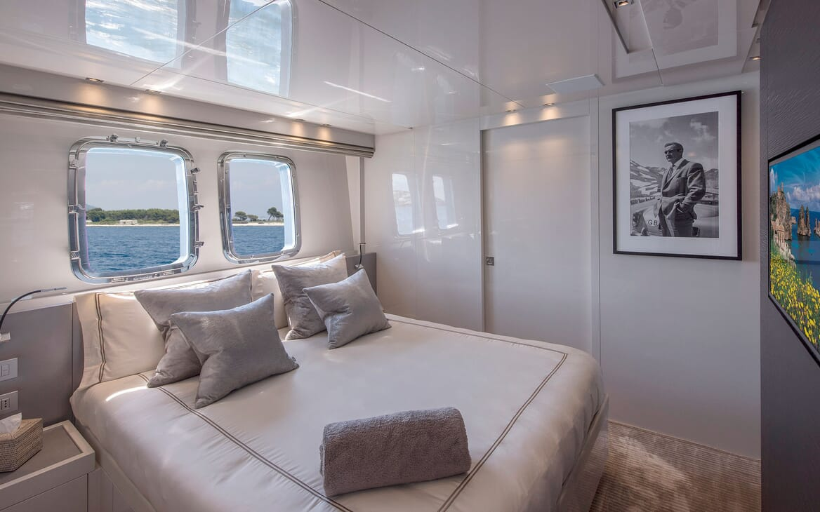 Motor Yacht SABBATICAL Double Guest Stateroom