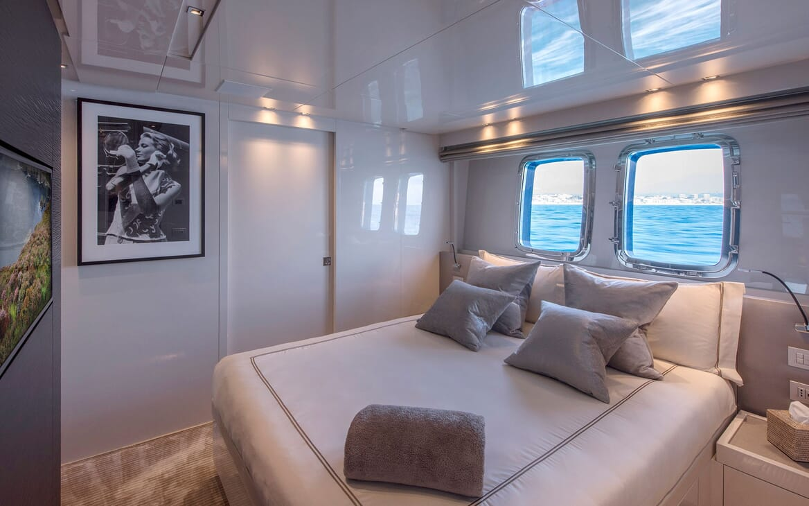 Motor Yacht SABBATICAL Guest Double Stateroom