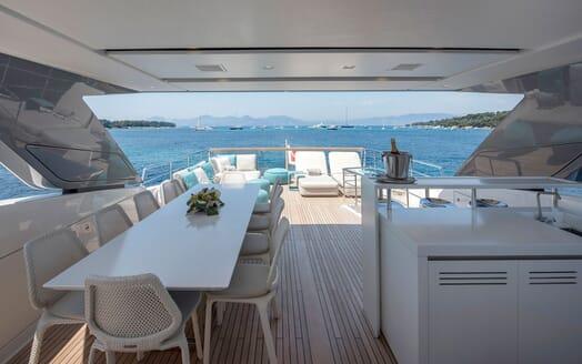 Motor Yacht SABBATICAL Sun Deck