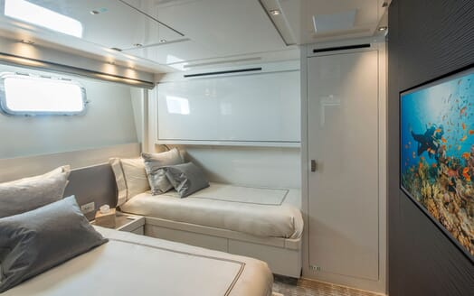 Motor Yacht SABBATICAL Twin Guest Stateroom