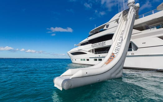 Motor Yacht KING BABY Inflatable Slide
