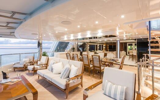 Motor Yacht KING BABY Main Aft Deck