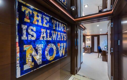 Motor Yacht KING BABY Hallway Artwork