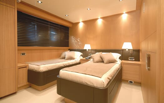 Motor Yacht Ermitage Twin Stateroom