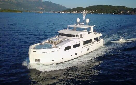 Motor Yacht SERENITAS Profile