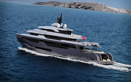 Motor Yacht RMK 58 underway