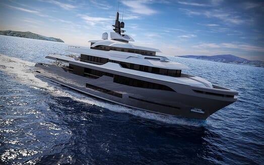 Motor Yacht RMK 58 cruising