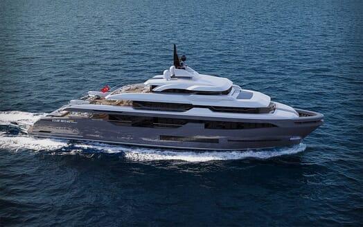 Motor Yacht RMK 58 motoring
