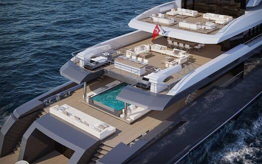 Motor Yacht RMK 58 aerial