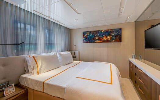 Motor Yacht Freddy VIP cabin