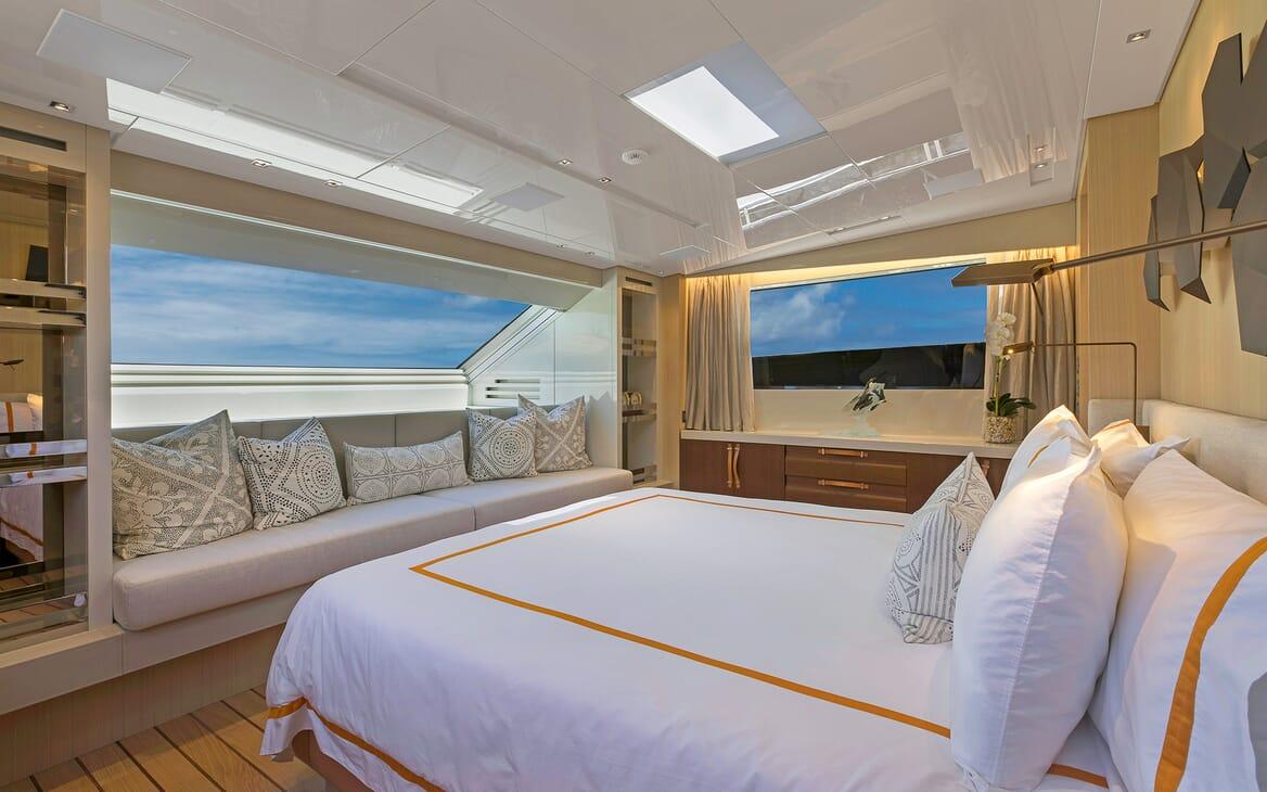Motor Yacht Freddy guest cabin