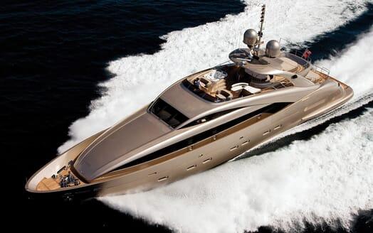 Motor Yacht Soiree cruising