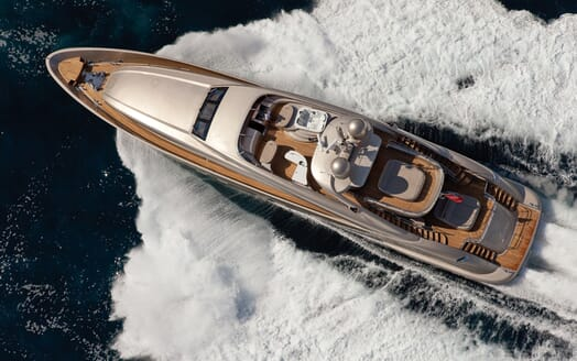 Motor Yacht Soiree aerial