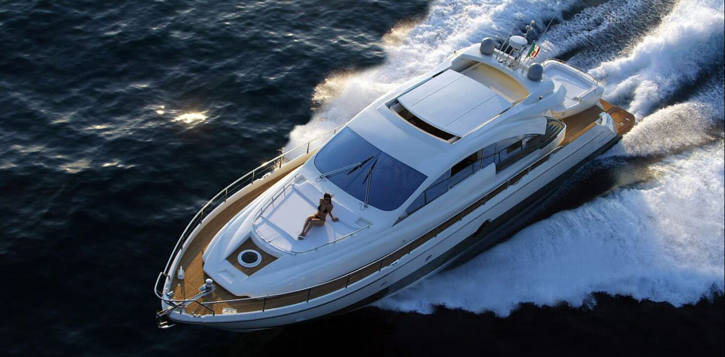 Motor Yacht Arwen aerial
